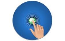 """Negeso W/CMS 3.0 Webdesign """"Go Touch"""" - O webdesign responsivo se adapta ao seu dispositivo automaticamente. Fácil navegação em telas sensíveis ao toque."""