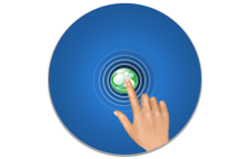 "Negeso W/CMS 3.0 Diseño Web ""Go Touch"" - Diseño web sensible se adapta a su dispositivo automáticamente. Fácil navegación en pantallas táctiles."