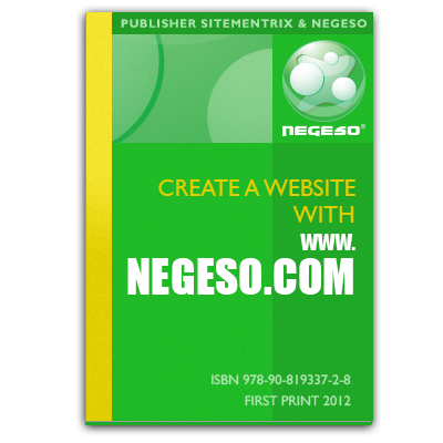 Book Create a website with www.negeso.com (ISBN 9789081933728)